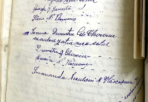 Document de partaj - Neculae M. Vlășceanu 2/2